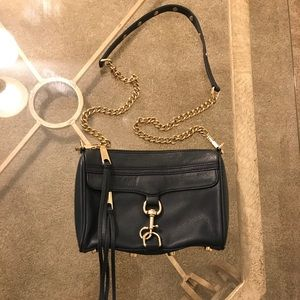Rebecca Minkoff MAC Mini Navy Crossbody Bag